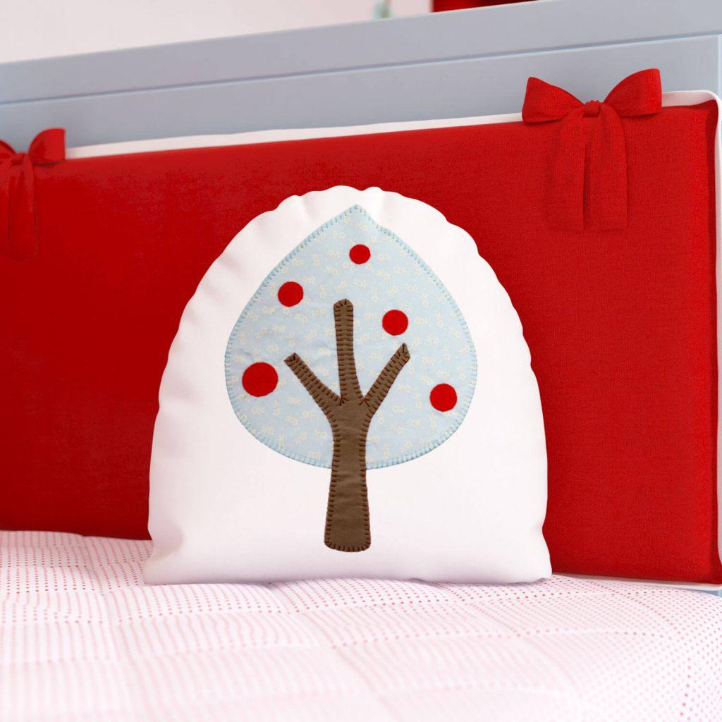 Almofadas Para Brincar Chapeuzinho Vermelho - árvore