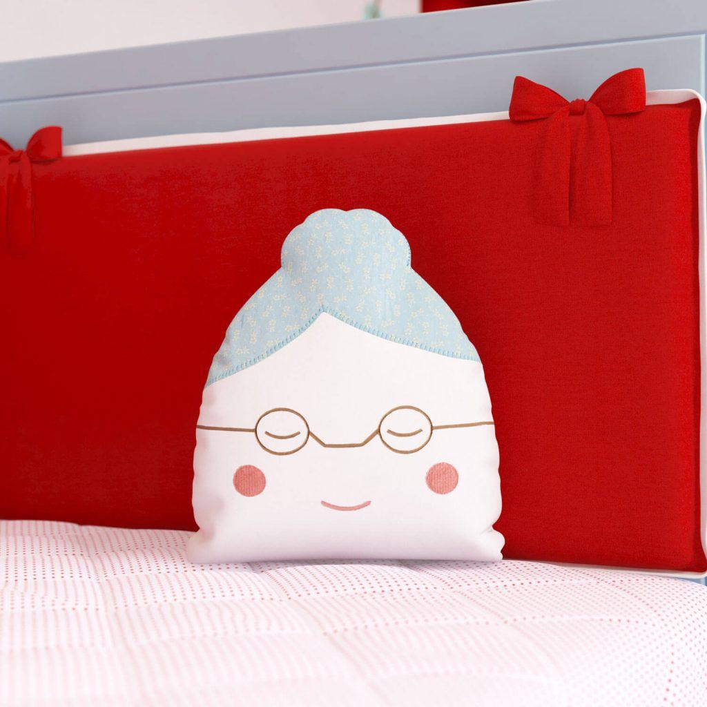 Almofadas Para Brincar Chapeuzinho Vermelho - vovozinha