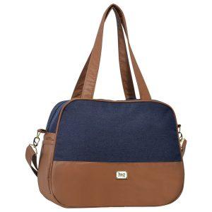 Diaper Bag: bolsa maternidade Hug Adoleta jeans