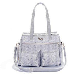 Diaper bags: bolsa para maternidade Hug Jujuba Cinza