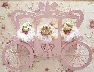 Painéis decorativos: carruagem