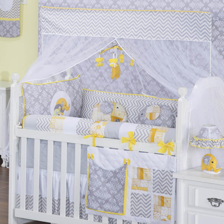 Elefante Na Decora O Para Beb Traz Harmonia Blog Gr O De Gente ~ Quarto Azul Marinho E Branco E Montar O Quarto Do Bebe