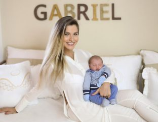 Andressa Suita e Gusttavo Lima - quarto de bebê do Gabriel