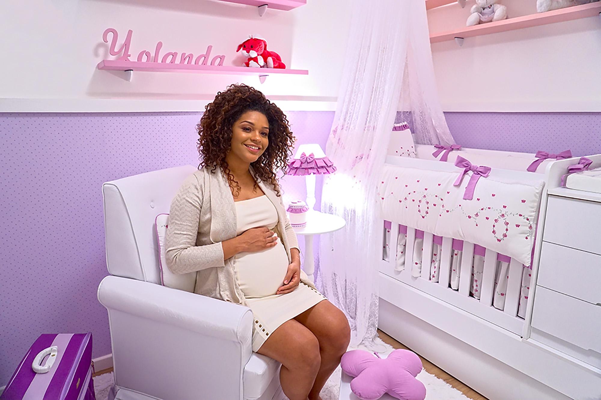 nomes de bebê 2017 - o significado do nome yolanda inspirou as cores do quarto