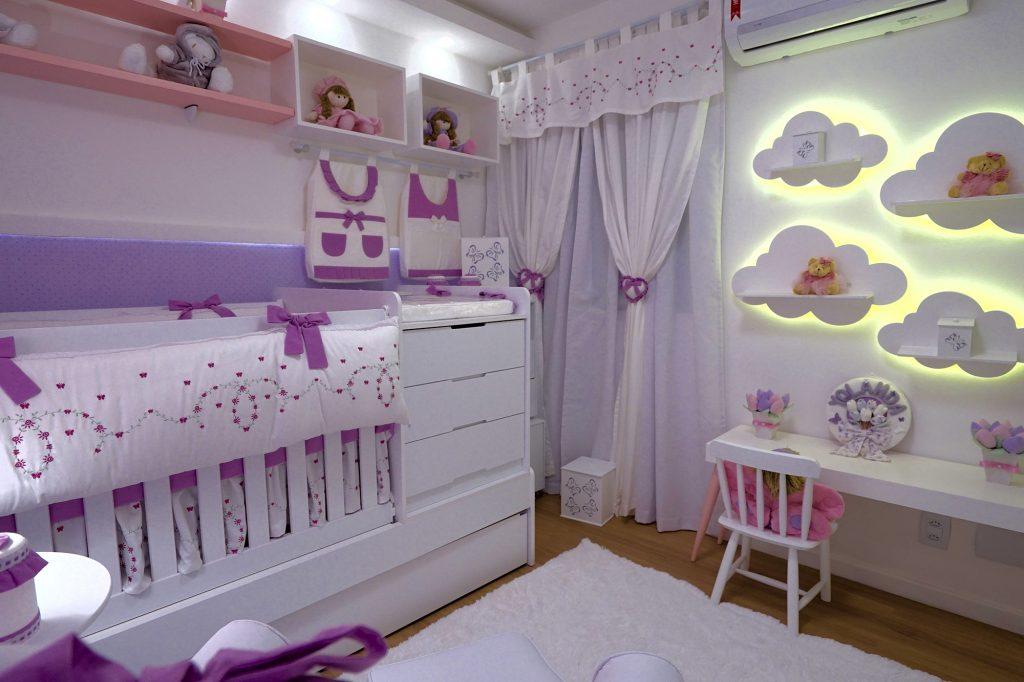 quarto de bebê alice lilás juliana alves yolanda