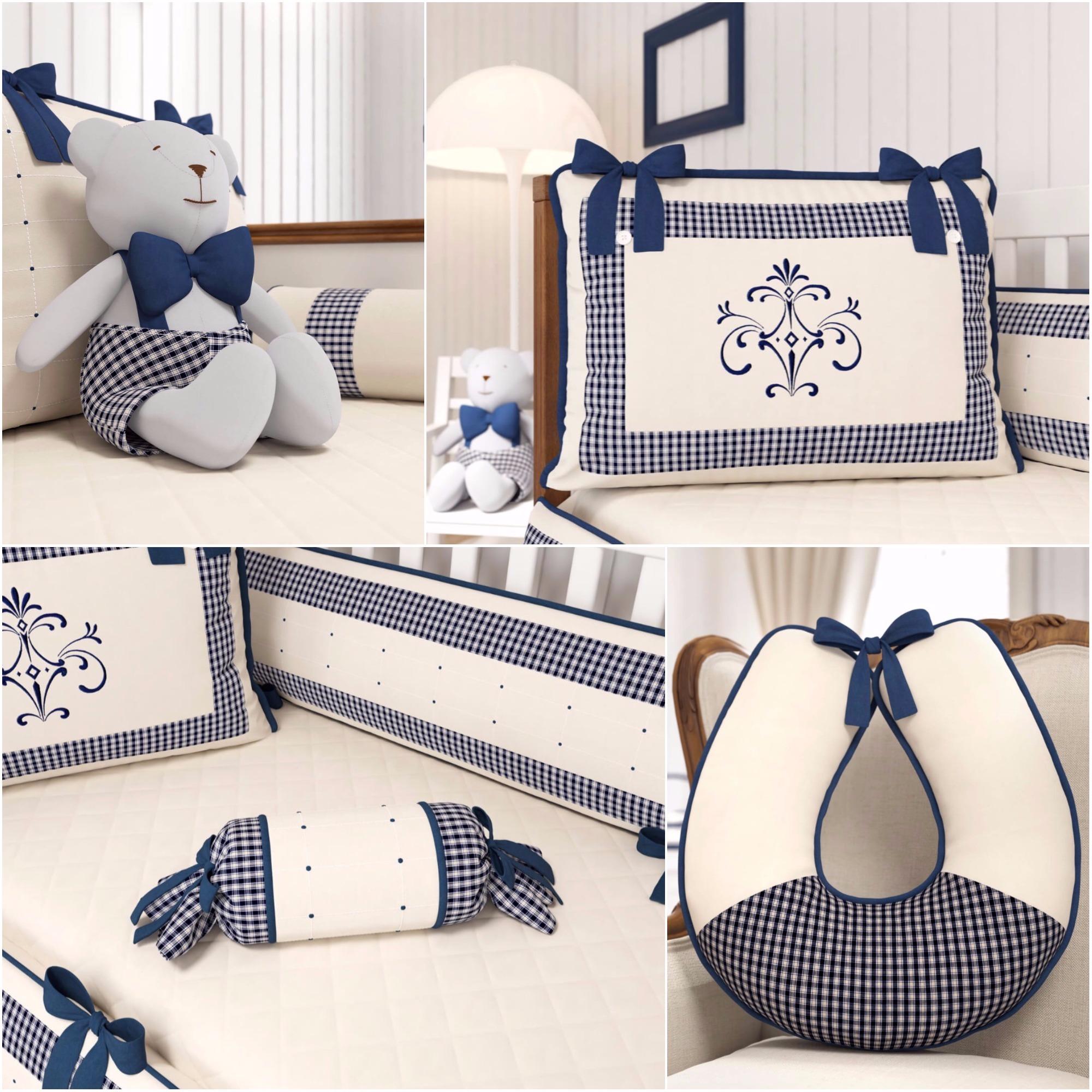 Detalhes quarto de bebê Petit Xadrez