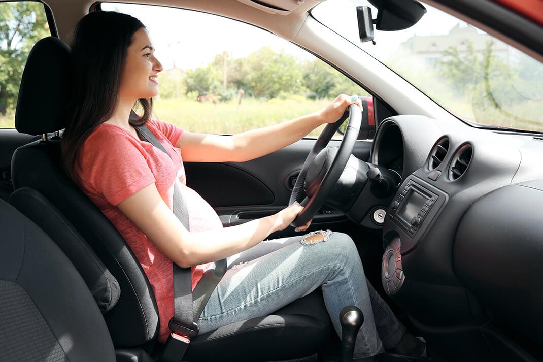 grávidas podem dirigir
