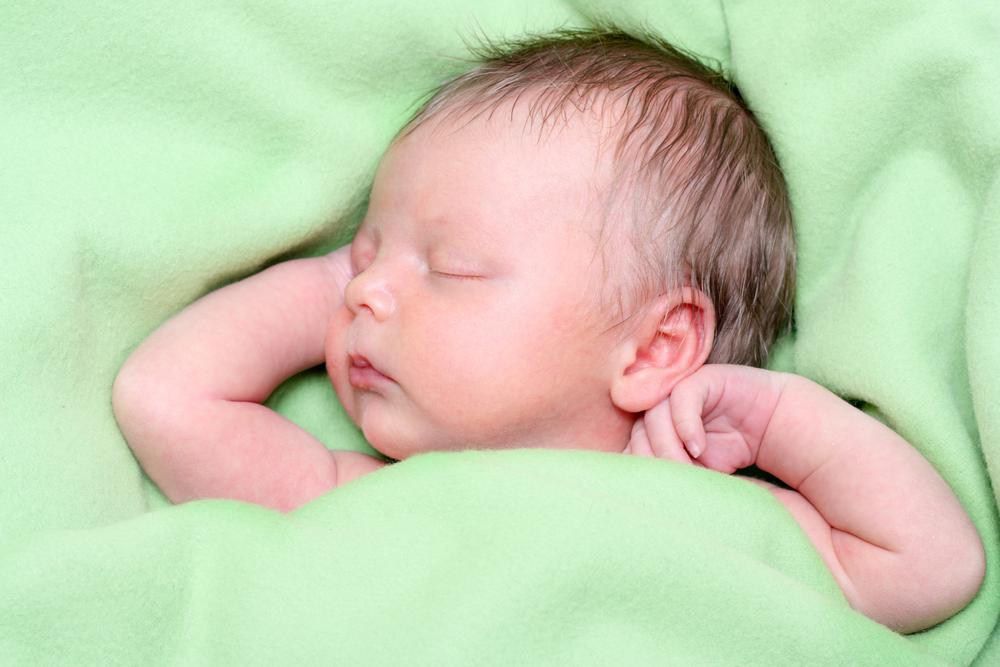 sono do recém-nascido