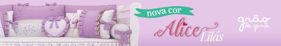 Novo quarto para bebê Alice Rosa - Grão de Gente