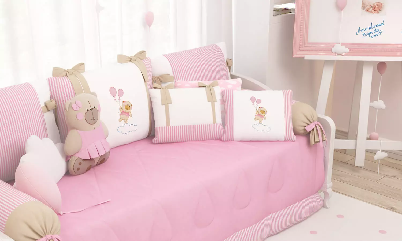 quarto de bebê urso nina e o balão