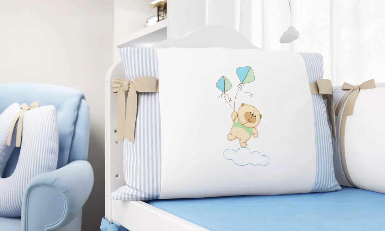 quarto de bebê urso nino e a pipa