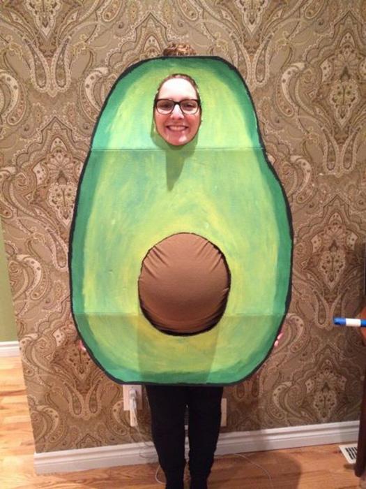 Abacate - fantasias de halloween para grávidas