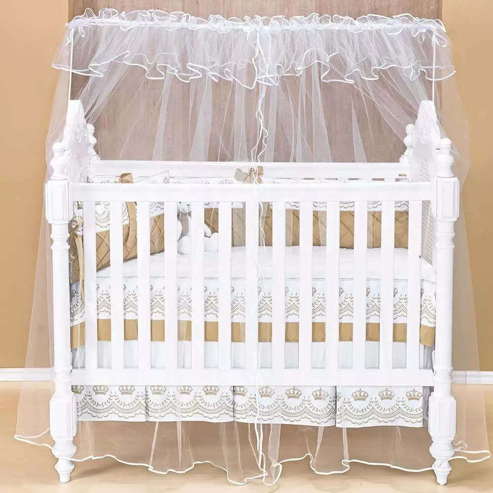 mosquiteiro que protegem seu bebê