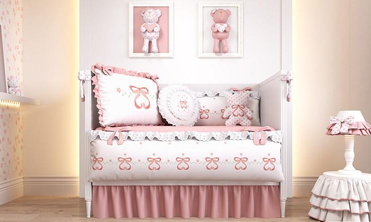 quarto de bebê sophia rosé