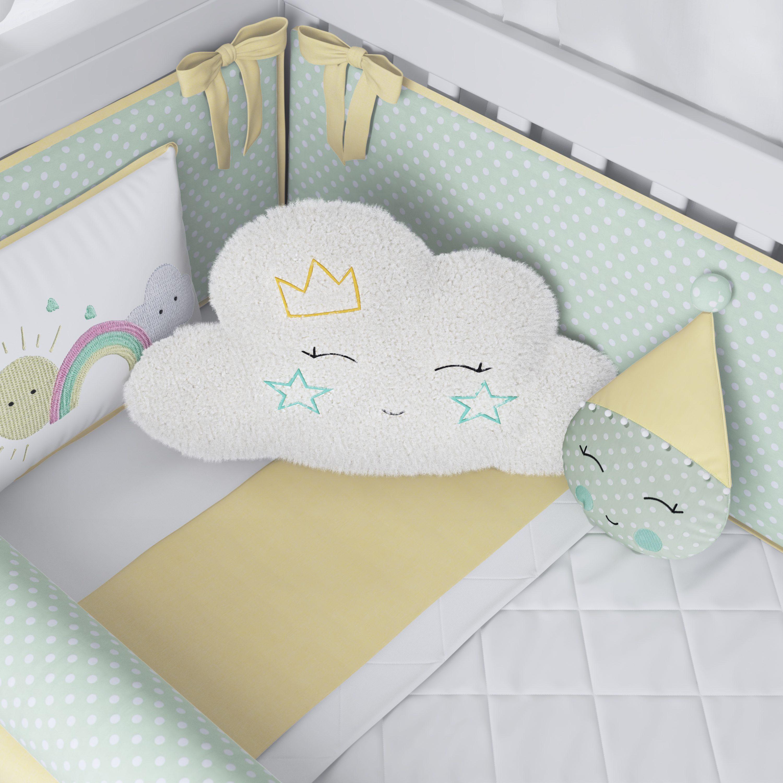 Nuvens na decoração do quarto de bebê