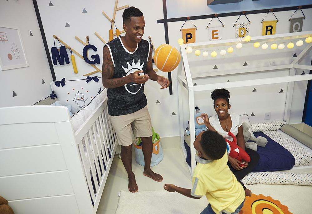 Quarto de Bebê Pedro e Miguel - jogador Jô e Claudia