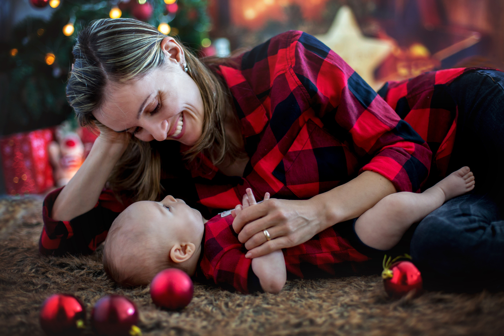 primeiro Natal do bebê