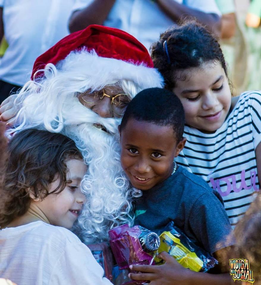 Natal do Vidiga na Social