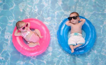 cuidados com o bebê no verão