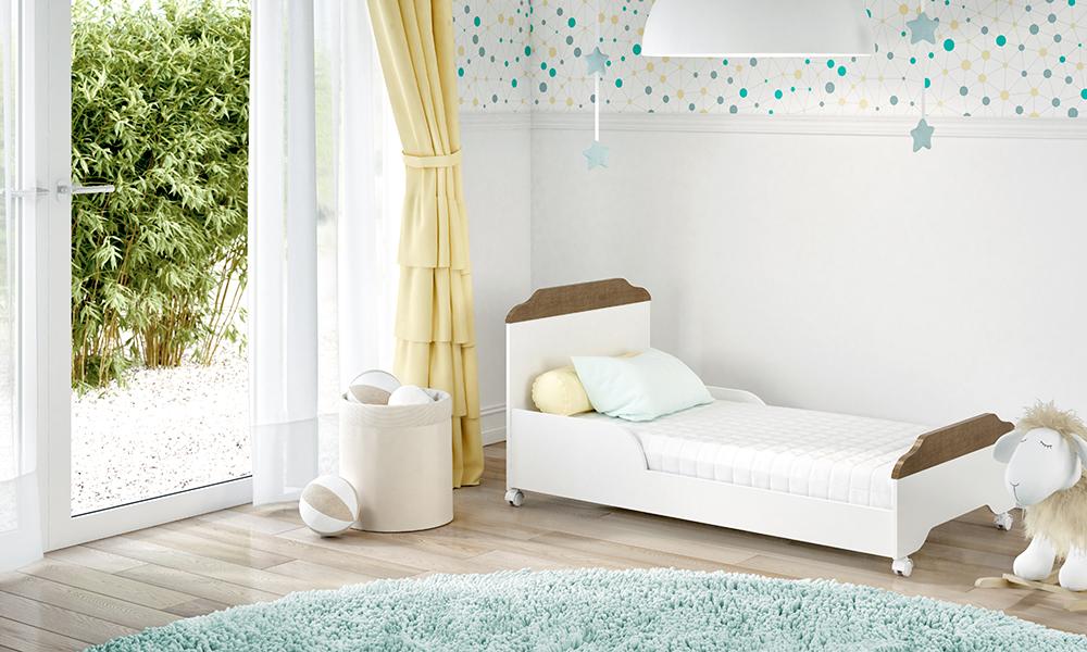 Berço Mini cama Mel 3 em 1