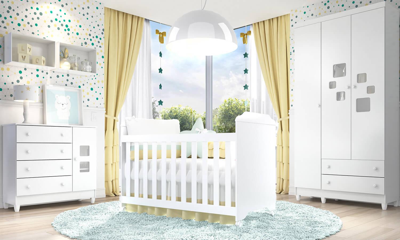 Quarto De Beb Econ Mico 5 Dicas Para A Decora O ~ Decoração De Quarto De Bebe Barato