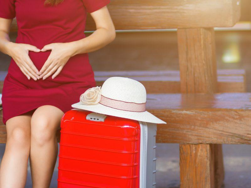 viajar na gravidez