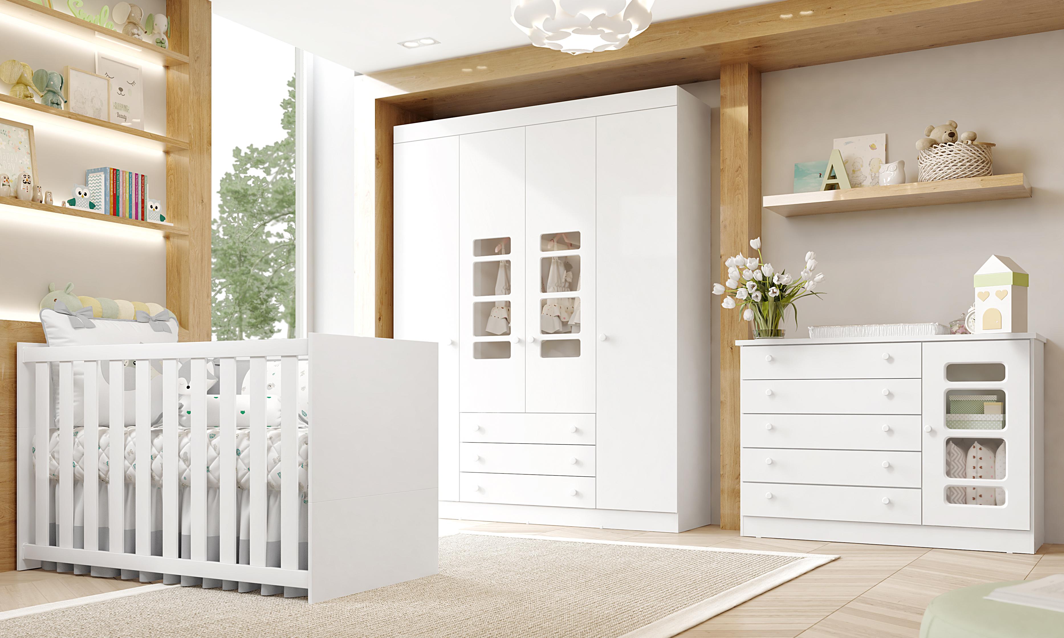 Móveis para quarto de bebê Gabriel
