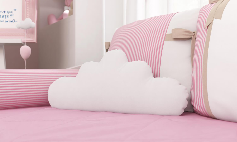 Almofada Nuvem Nina e o Balão