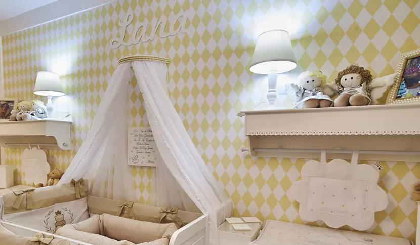 luminação para quarto de bebê