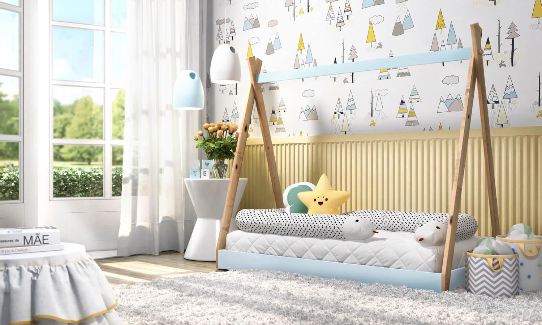 Tend u00eancias 2019 para decoraç u00e3o de quarto de beb u00ea -> Decoração De Quarto De Bebê Ovelhinhas