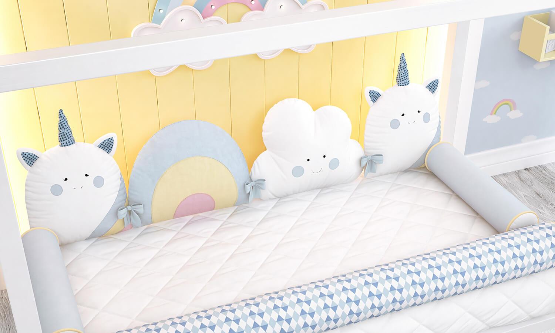 decoração de quarto de bebê