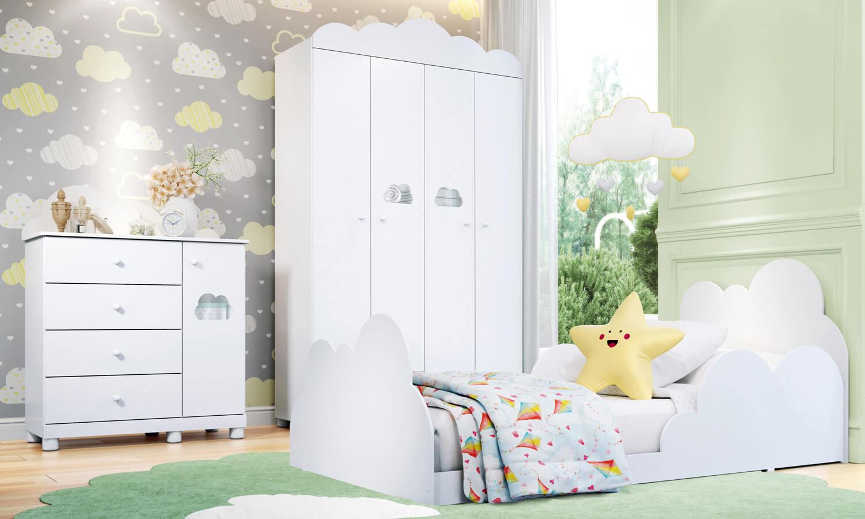 quarto infantil nuvem