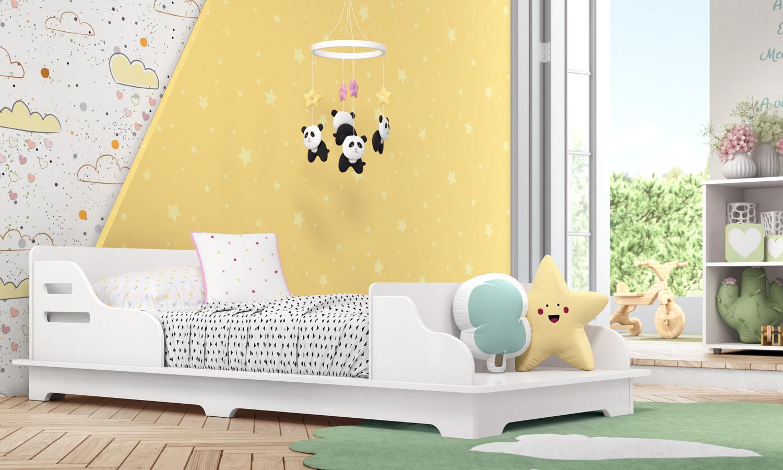 móveis luna e cadu - mini cama cadu
