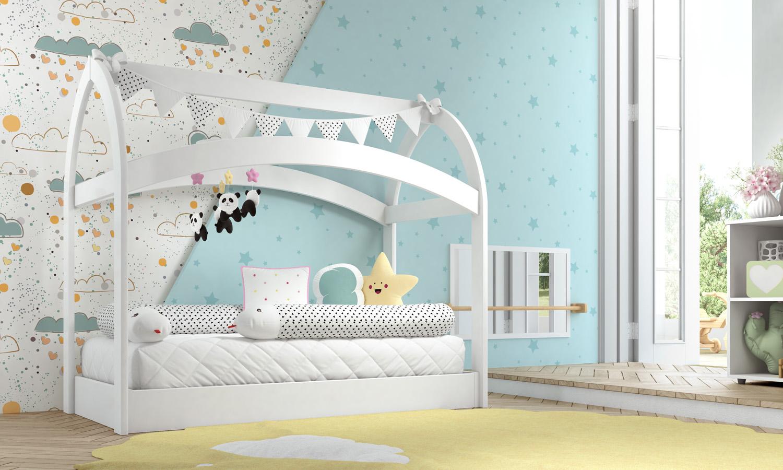móveis luna e cadu - cama luna