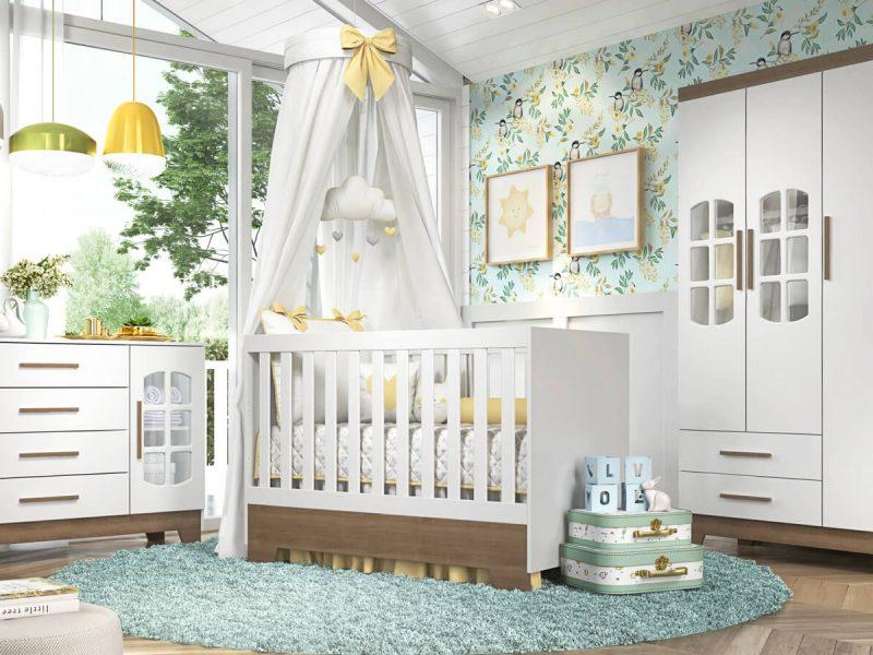 quarto de bebê retrô ayla