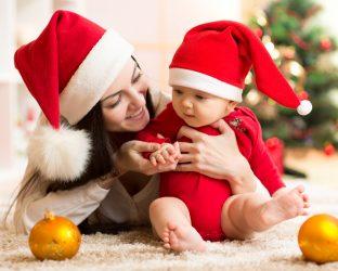 natal com bebê