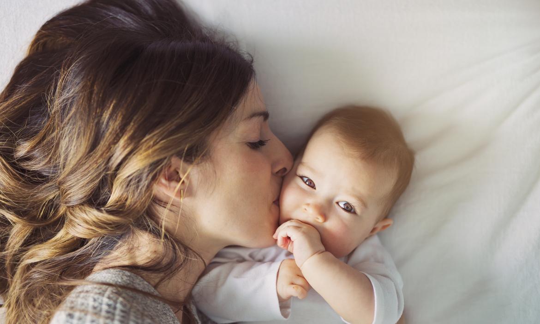 beijar o bebê