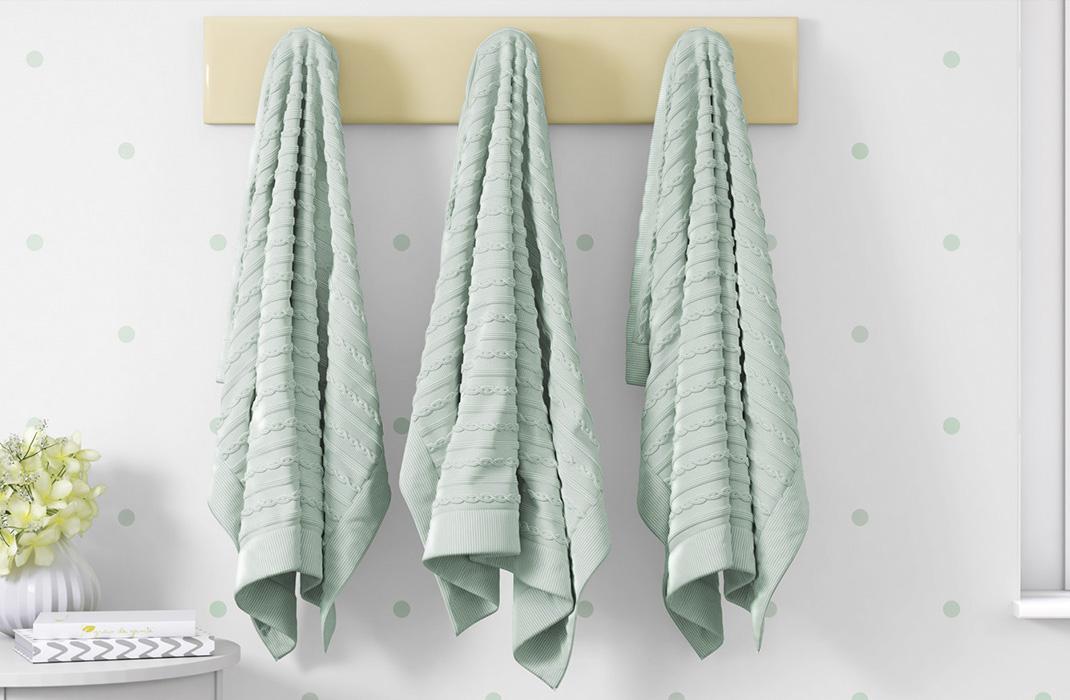 coleção tricot poá verde