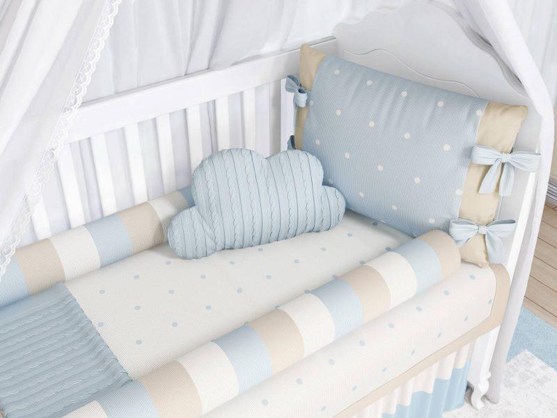 quarto de bebê tricot