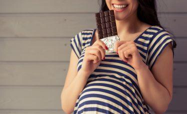 chocolate na gravidez