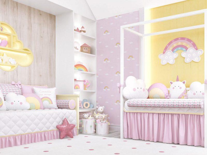 quarto de bebê candy colors