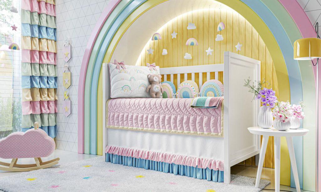 quarto de bebê grão de gente
