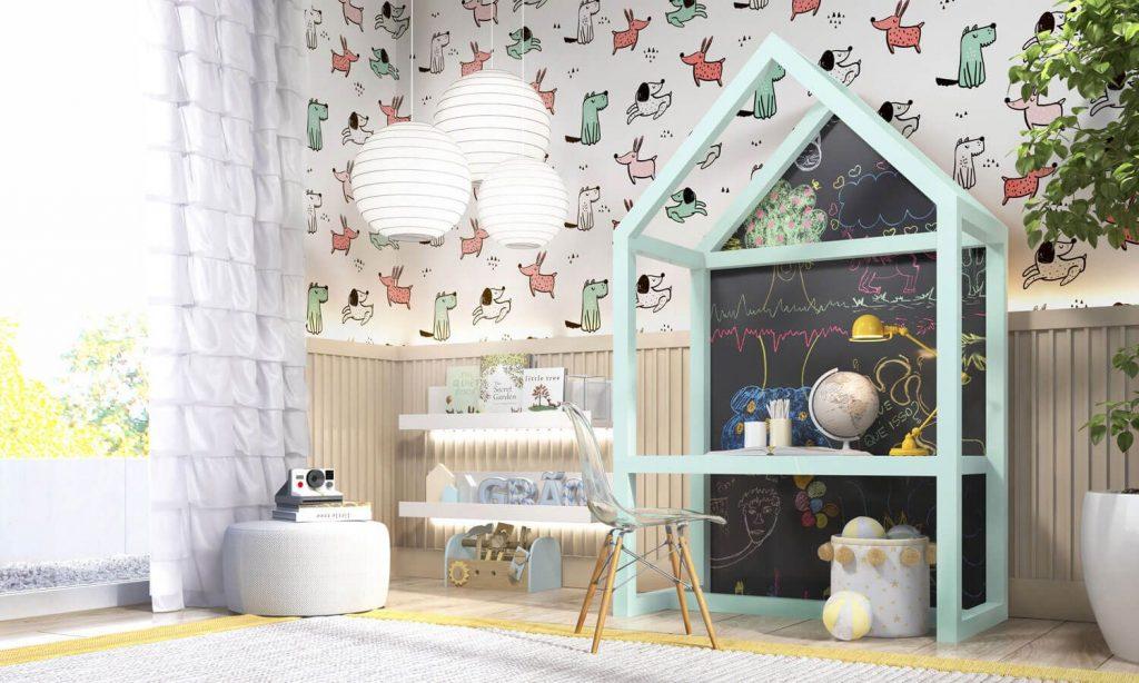 quarto infantil montessoriano
