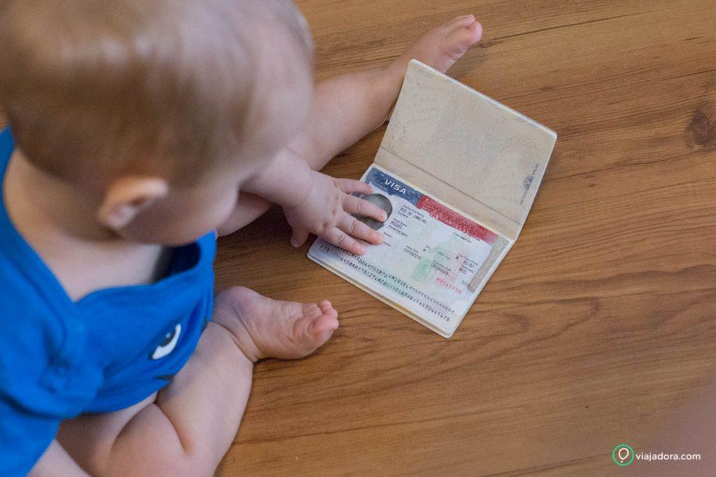 documentos de bebê