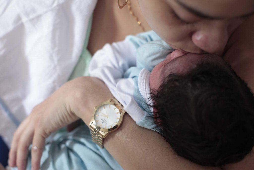 bebê de Santos