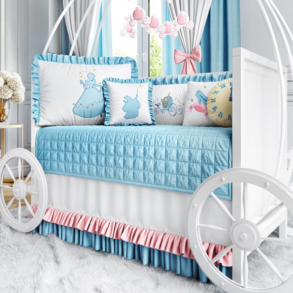 quarto de bebê princesa cinderela