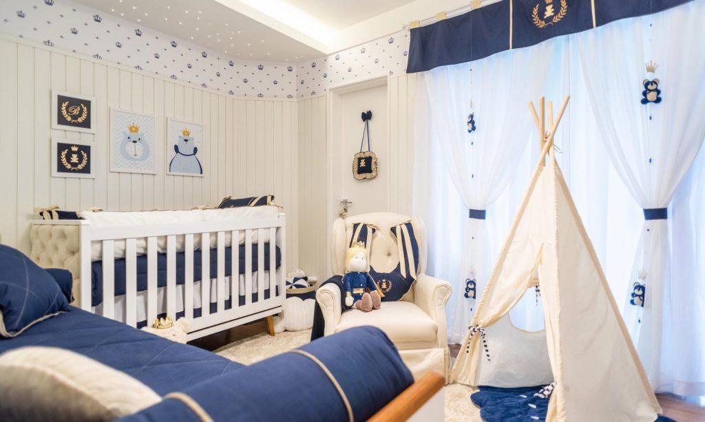 cor de quarto para bebê