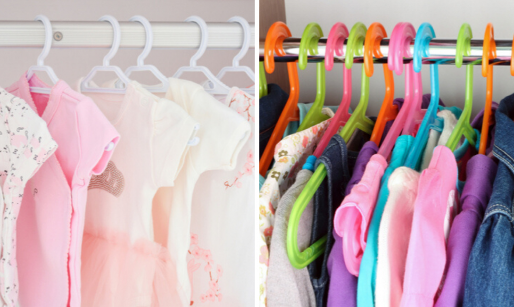 guarda-roupa do bebê