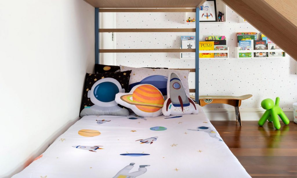 decoração astronauta