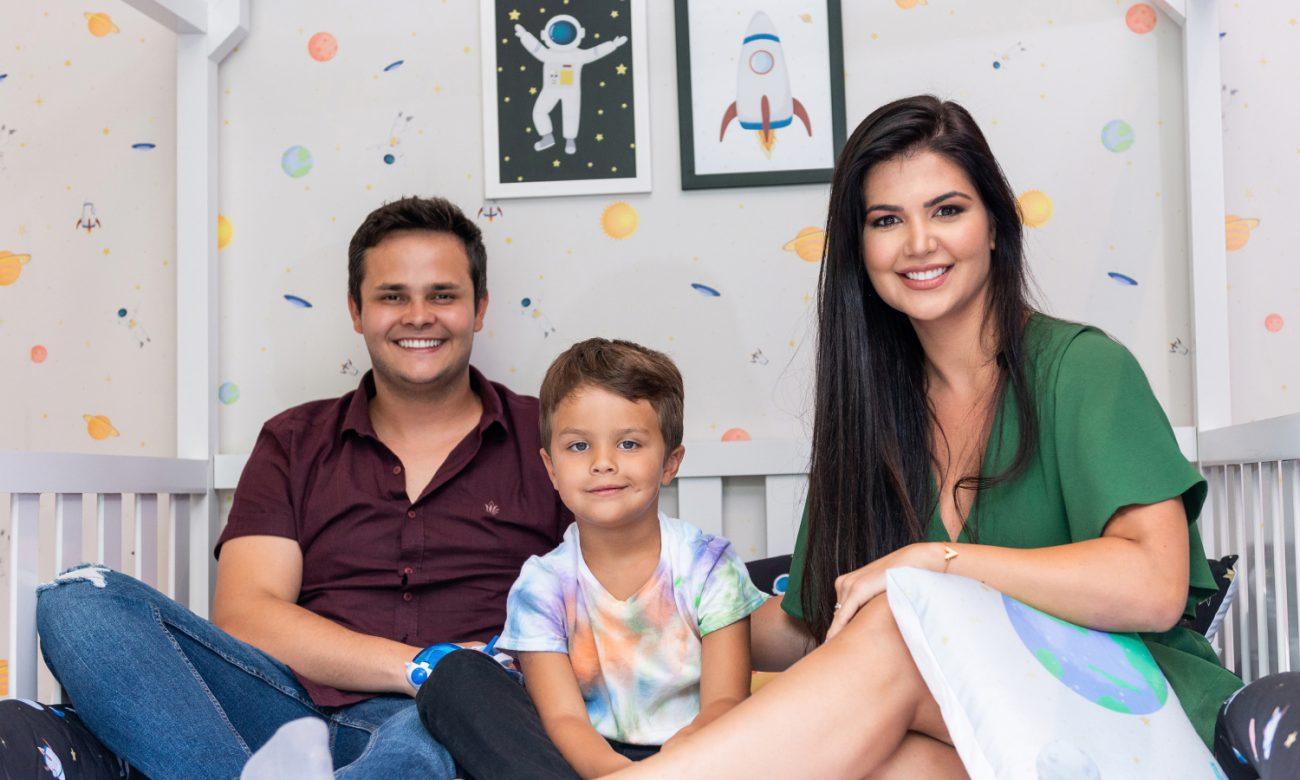 Matheus Aleixo e Paula Aires